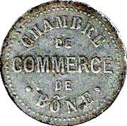 5 centimes (Bone chambre de Commerce) – avers