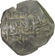 4 maravedis Philippe III (Oran) – avers