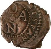 2 maravedis Philippe III oran – revers