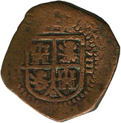 8 maravedis Philippe III oran – avers