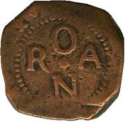 8 maravedis Philippe III oran – revers
