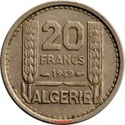 20 francs Turin -  revers