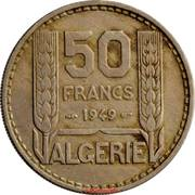 50 francs Turin -  revers