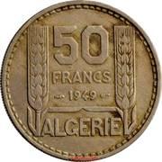 50 francs Turin -  revers