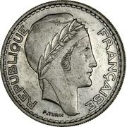 50 francs (Essai) -  avers