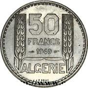 50 francs (Essai) -  revers