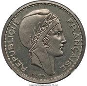 100 Francs (Piedfort Essai) – avers