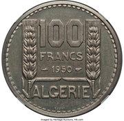100 Francs (Piedfort Essai) – revers