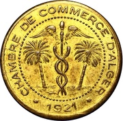 10 Centimes (Alger Chamber of Commerce; Essai) – avers