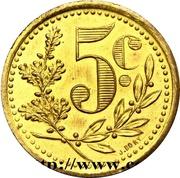 10 Centimes (Alger Chamber of Commerce; Essai) – revers