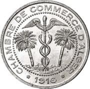 5 centimes (Alger chambre de Commerce) – avers