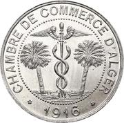 10 centimes (Alger chambre de  Commerce) -  avers