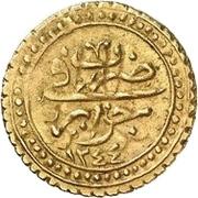 ¼ Sultani - Mahmud II – revers