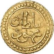 ¼ Sultani - Mahmud II – avers