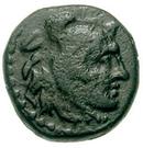 Bronze Æ11 (Alinda) – avers
