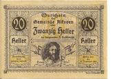 20 Heller (Alkoven) – avers