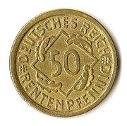 50 rentenpfennig -  revers