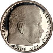 5 reichsmark (Paul von Hindenburg) – revers