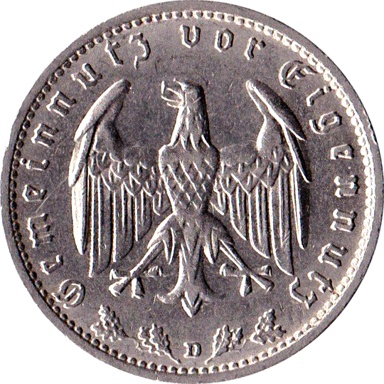 1 Reichsmark Allemagne 1871 1948 Numista