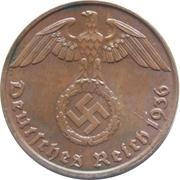 1 reichspfennig (bronze) – avers