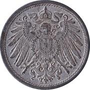 10 pfennig - Wilhelm II (type 2 - grand aigle, sans atelier) – avers