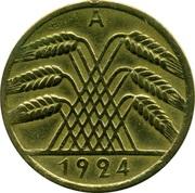 10 rentenpfennig -  avers