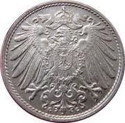 10 pfennig - Wilhelm II (type 2 - grand aigle) -  avers