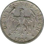 3 reichsmark -  avers