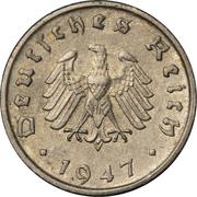 10 reichspfennig (Occupation) -  avers
