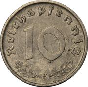 10 reichspfennig (Occupation) -  revers