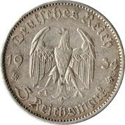 5 reichsmark (Église de la garnison de Potsdam) – avers