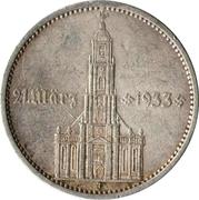 5 reichsmark (Église de la garnison de Potsdam) -  avers