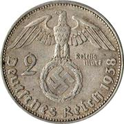 2 reichsmark (Paul von Hindenburg) -  avers
