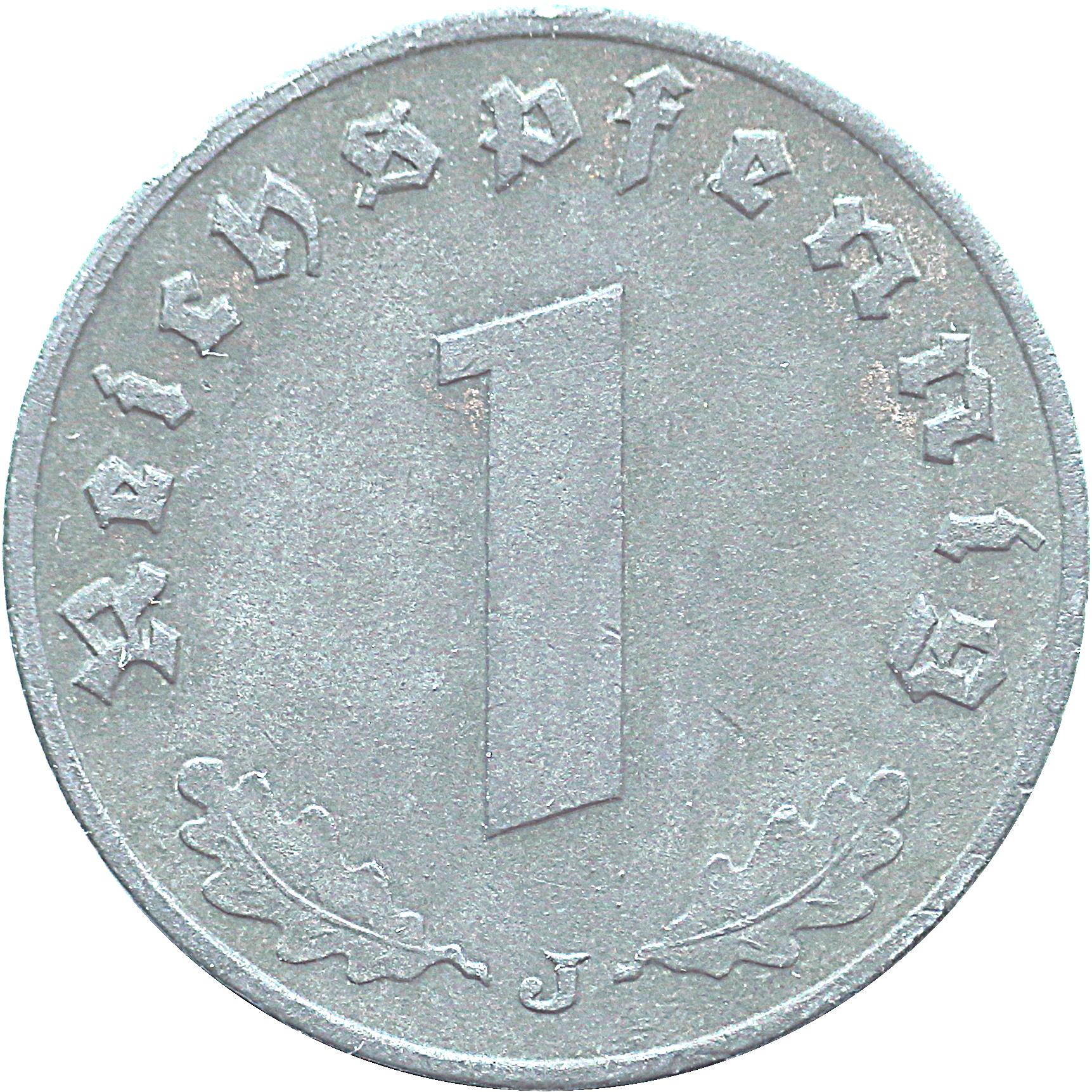1 Reichspfennig Zinc Allemagne 1871 1948 Numista