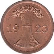 2 rentenpfennig -  avers
