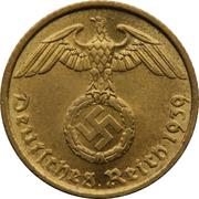 5 reichspfennig (bronze-aluminium) – avers
