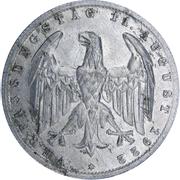 3 marks (Constitution de Weimar ) -  avers