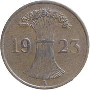 1 rentenpfennig -  avers