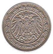 20 pfennig - Wilhelm II – avers