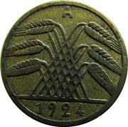 5 rentenpfennig -  avers