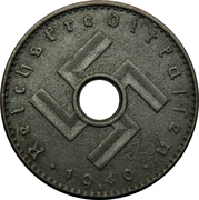 5 reichspfennig (monnaie militaire) – avers