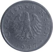 5 reichspfennig (Occupation) -  avers