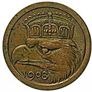 25 Pfennig - Wilhelm II (Essai) – revers