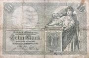 10 Mark (Reichskassenschein) – avers