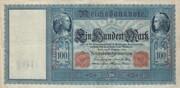 100 Mark (Reichsbanknote) – avers
