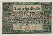 10 Mark (Reichsbanknote) – avers