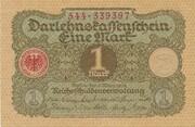 1 mark (Darlehnskassenschein) -  avers