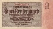 2 rentenmark (Rentenbankschein) -  avers