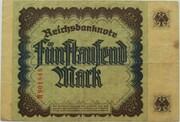 5000 Mark (Reichsbanknote) – revers