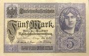 5 Mark (Darlehnskassenschein) -  avers